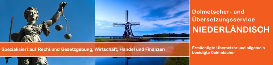 Dolmetscher- und Übersetzungsservice Niederländisch